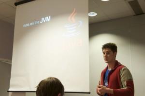 Scala runs on the JVM